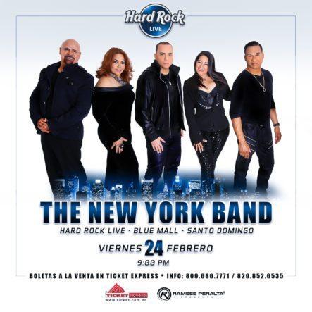 The New York Band Se Presentará En Hard Rock Live
