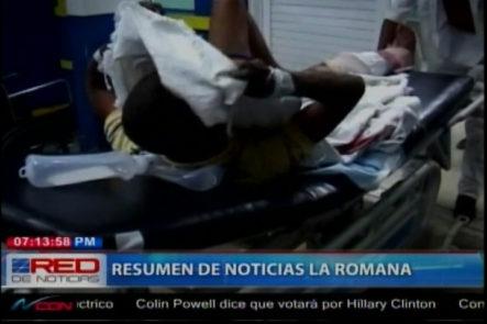 La Romana: Dos Jóvenes llegan al Hospital Gustavo Montalvo Con Impactos Balas No quisieron Dar Informaciónes a la Prensa