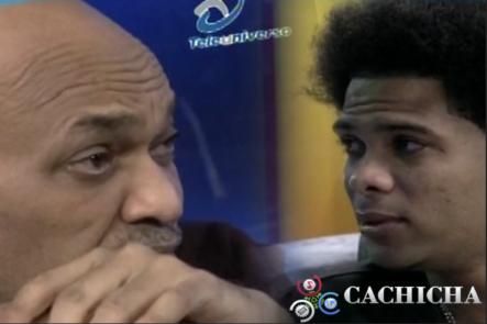 Se Le Salen Las Lágrimas A Nelson Javier Entrevistando A Liro Shaq