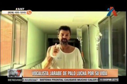 Vocalista De Jarabe De Palo Continúa Luchando Por Su Vida