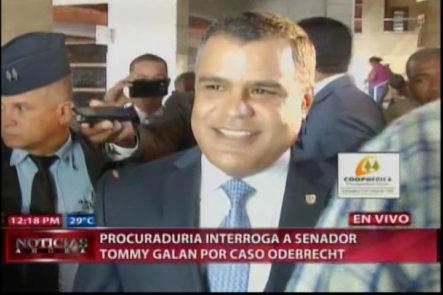Procuraduría Interroga A Senador Tommy Galán Por Caso ODEBRECHT