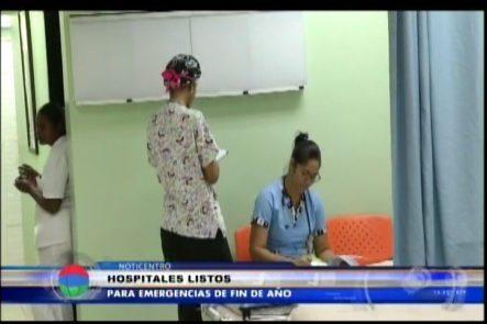 Hospitales Listos Para Emergencias De Fin De Año