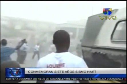 Hoy Se Cumplen 7 Años Del Terremoto En Haití