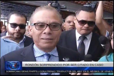 Rondón Sorprendido Por Ser Citado En Caso ODEBRECHT