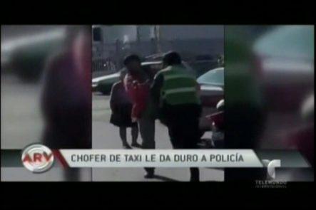 Chófer Le Da Bien Duro A Policía