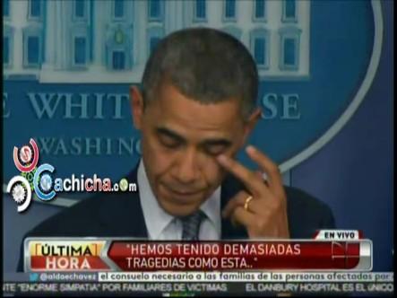 Obama Llora En Alocución Sobre Tragedia En Connecticut #Vídeo