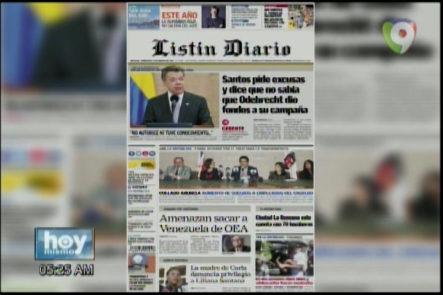 Portada De Los Principales Periódicos Del País 15-Marzo-2017