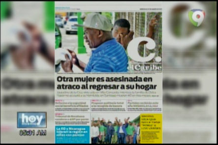 Portada De Los Principales Periódicos Del País 22-Marzo-2017
