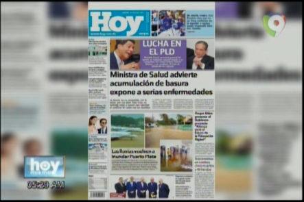 Portada De Los Principales Periódicos Del País 23-Marzo-2017