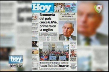 Actualízate Con Las Portadas De Los Periódicos  Del País, 27-Enero-2017