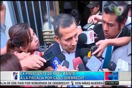 Ex-Presidente De Perú Asiste A La Fiscalía Por Caso ODEBRECHT