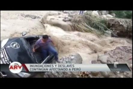 Perú: Las Inundaciones Siguen Causando Estragos