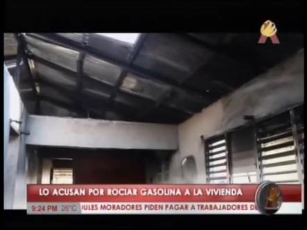 Piden Justicia Familiares De Niños Quemados Por Su Padre En La Vega #Video