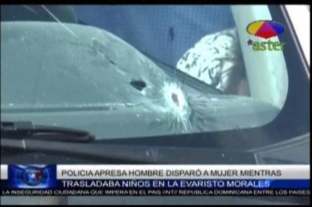 Policía Apresa A Hombre Que Disparó Por Error A Mujer Cuando Intentó Detener A Unos Delincuentes