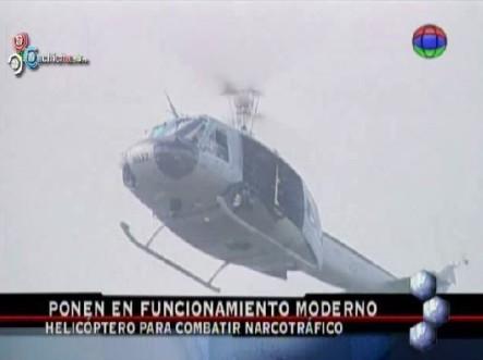 Ponen En Funcionamiento Moderno Helicóptero Para Combatir Narcotráfico #Video