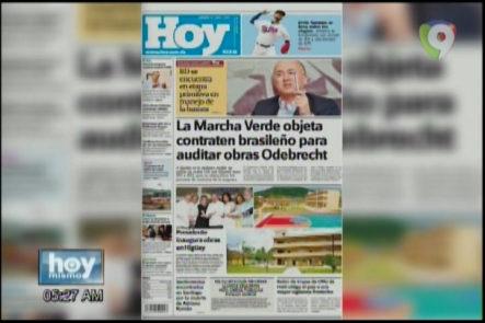 Portada De Los Principales Periódicos Del País, 27 Abril Del 2017