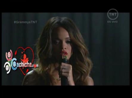 Presentación De Rihanna En Los Grammys 2013