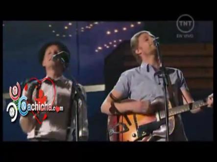 Presentación De The Lumineers En Los Grammys 2013