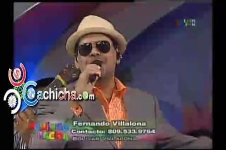 Presentación Completa De @Fervillalona En @DomingoyPacha #Vídeo