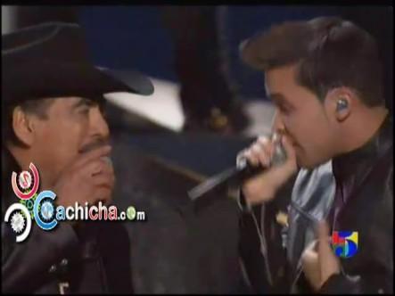 Prince Royce ft. Joan Sebastian – Incondicional #Latingrammy 2012 #Vídeo