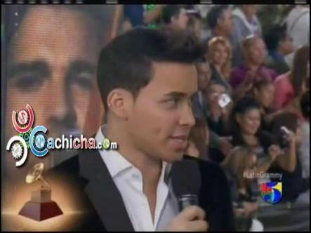 @PrinceRoyce #AlfombraVerde #LatinGrammy 2012 #Vídeo