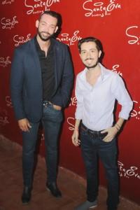 Principal.  Freddy Perez  y Massimiliano Mole