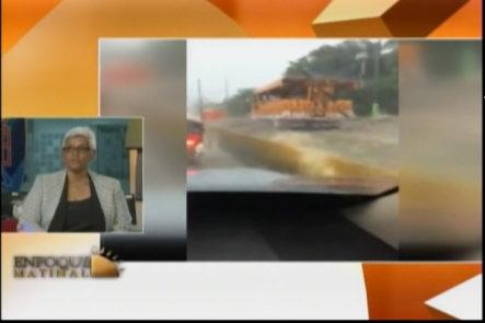 Imágenes De Las Inundaciones En Puerto Plata En «Enfoque Matinal» Una Familia Desaparecida