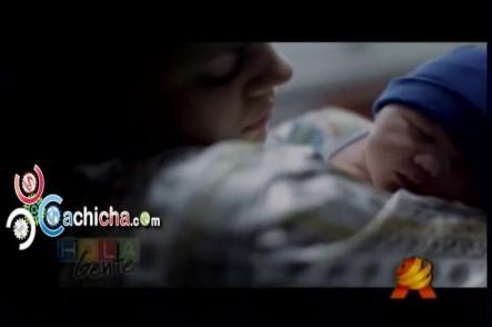 @TechyFatule Muestra su bebé al mundo #Vídeo