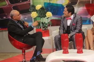Roberto Rodríguez complacido de estar en Pégate y Gana con Pachá