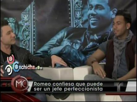 Confesiones de Romeo Santos En #AlRojoVivo #Vídeo