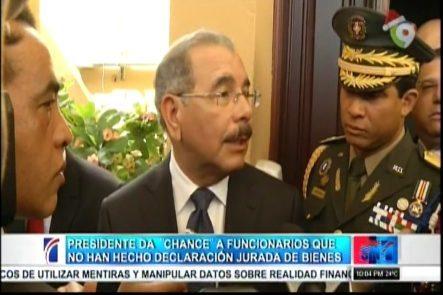 """Medina Le Da Un """"Chance"""" A Los Que No Han Presentado Su Declaración Jurada De Bienes"""