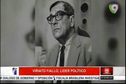Historia Dominicana: Viriato Fiallo, Lider Político