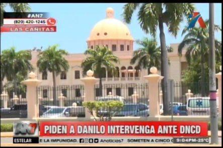 Ciudadanos Piden Al Presidente Que Intervenga Ante DNCD