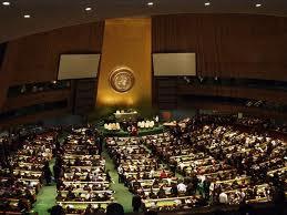 Salón de la Asamblea General de la ONU