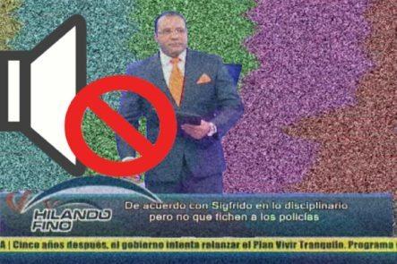 Le Boicotean El Programa A Salvador Holguín Mientras Hablaba De La Corrupción Y De La Policía Nacional