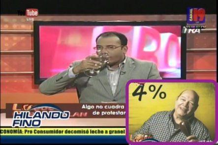 Salvador Holguín: Algo No Cuadra, Victor Victor, De Protestante A Funcionario Del Gobierno