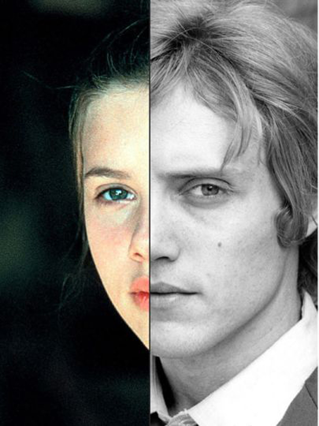 Scarlett Johansson y Christopher Walken