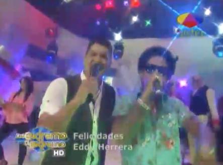 Eddy Herrera Celebra Su Cumpleaños Junto A Vakero En 'De Extremo A Extremo' #Video