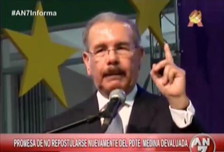 Promesa De Danilo Medina Se Siente Devaluada #Video