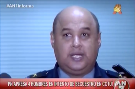 PN Apresa 4 Hombres En Intento De Secuestro En Cotuí #Video
