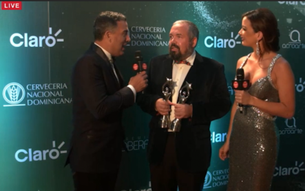 Entrevista A Ernesto Alemany En El Detrás De Cámara De Premio Soberano