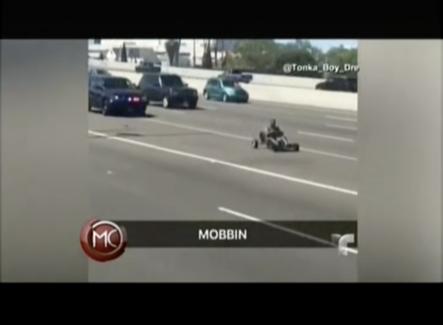 Un Piloto De Go Kart Protagoniza Una Persecución Policial