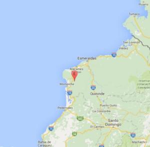 Dos sismos de 5.9 grados y 6.2 sacuden este domingo Ecuador