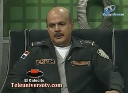 General Acosta Castellanos Asegura Que La Población Debe Confiar En Los Policías. Ademas Afirma Que Han Estado Bajando Los Indices De Criminalidad