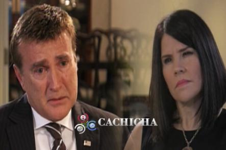 El Embajador de EE.UU se pone Emotivo en La Entrevista con Alicia Ortega En El Informe