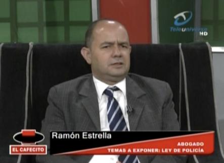 El Cafecito Presenta Entrevista A Ramón Estrella Presidente Del Colegio De Abogados De Santiago Quien Habla Sobre La Ley Del Policía