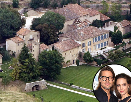 Angelina Jolie y Brad Pitt venden esta mansión en Francia