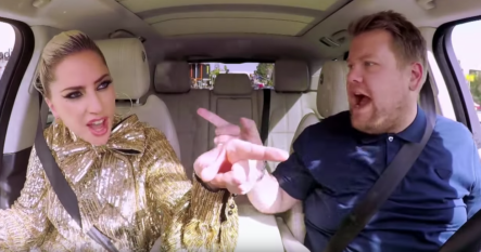 Vídeo completo de Lady Gaga en el Carpool Karaoke de James Corden