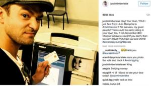 Justin Timberlake podría ir a la cárcel por esta selfie que subió