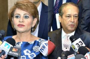 Lucía Medina y Pared Pérez tienen RD$133 millones en bienes